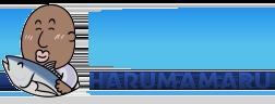 晴磨丸 HARUMAMARU ロゴ